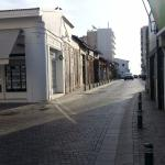 street from the hotel