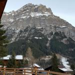 Great food and amazing looking place right in the heart of Grindelwald with awesome views.