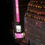 Times Square from room