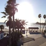 Pano View from beach