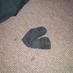 sock found by valance