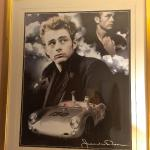 One of many posters in the James Dean room (109)