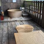 Private outdoor hot spring bath