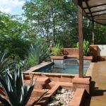 Our private plunge pool.