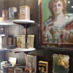 Artifacts of the chocolate industry
