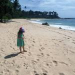 very well-maintained beach