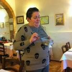 Daughter of the house giving A-Z on Italian truffles and their seasons