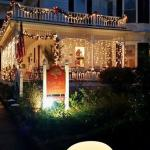 Holiday lights in Beaufort