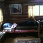 The cabins are all insulated with original doors and windows.
