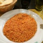 First Item; Risotto and Cheese