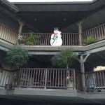 2nd and 3rd floors; room 303 behind snowman