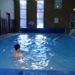 Heated indoor pool -- the kids enjoyed playing ball!