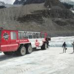 Photo of Athabasca Glacier