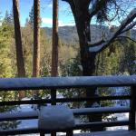 view from the room, lower level, Narrow Gauge Inn
