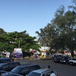 """Lagos Motor Fair"" inside the hotel ground"