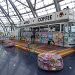 Afro Coffee Bus at the Red Bull Hangar