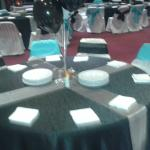Table lay out was perfect!