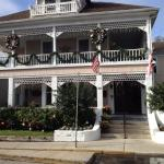 The Kenwood Inn at Christmas time