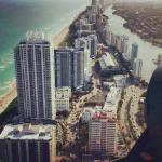South Beach from the helicopter
