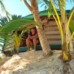 Sitting in our Fale (room)