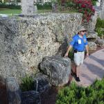 Informative and enthusiastic guides at Coral Castle