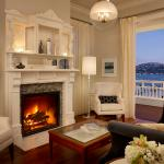 Living Room of a Mansion Suite at Casa Madrona Hotel & Spa