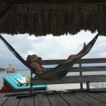 hammock on the pier