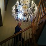 Gone with the wind chandelier.