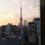 Tokyo Tower view from the room