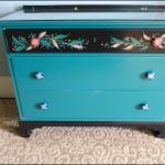 Vintage Chest in the Room