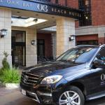 Hotel Entrance - Car Takes You to Oak Bay Downtown or Downtown Victoria For A Fee