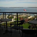 View From Main Floor & Restaurant Out to The Bay/Outdoor Spa