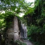 One of the old mills along the path