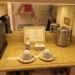 Tea and Coffee in room