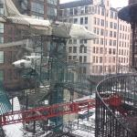 outside space at city museum