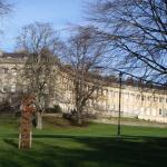 West end of the Royal Crescent in Bath, finished by John Wood the Younger in 1775n