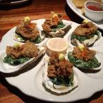Oysters St Charles