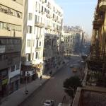 View from the balcony.Tallat Harb street