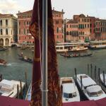View of Grand Canal from Hotel Lounge