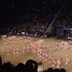 Scottish dancers performing at the tattoo