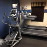 Fitness Center with elliptical and two tread mills