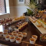 Weekend Buffet - Dessert table