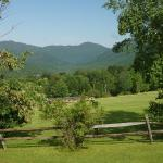 Green Mountains from Trapp Family Grounds