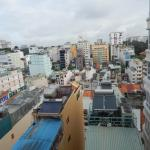 View from the room - Ben Thanh Market below