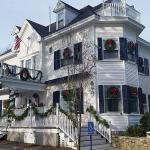 The Inn dressed for the holidays