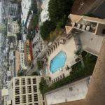 Pool and hot tub on the 5th floor