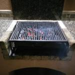 The sweet BBQ pit with Oak Carbon