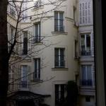View From Bathroom Across Hotel Courtyard - Very Paris!