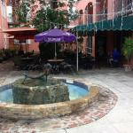 Cafe Fresco - Courtyard Seating with Shade