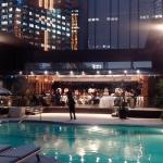 the pool at Grand Hyatt Hong Kong